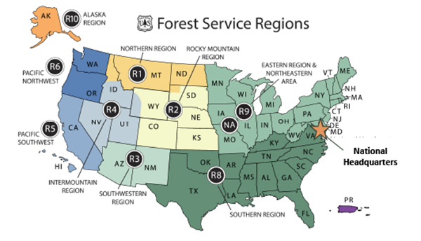 Forest Service Regions