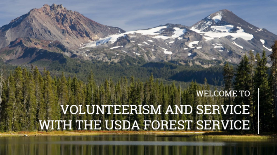Volunteerism and Service with the USDA Forest Service
